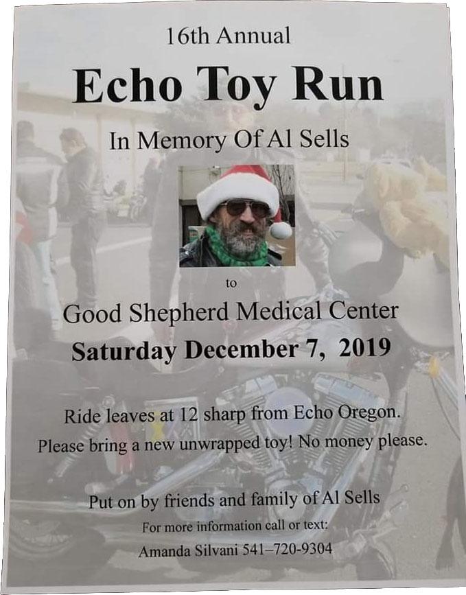 16th Annual Echo Toy Run Echo,OR