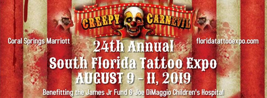24th Annual South Florida Tattoo Expo Coral Springs ,FL