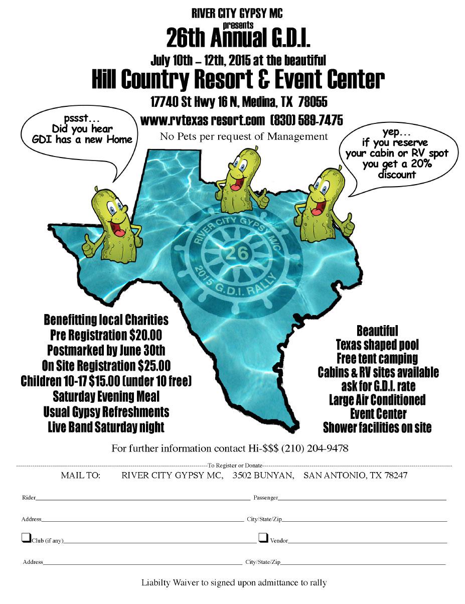 28th Annual G.D.I. Medina,TX