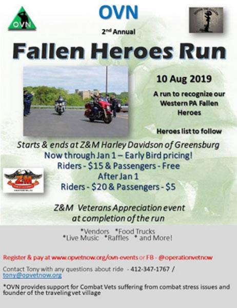 2nd Annual Fallen Heroes Run Greensburg,PA