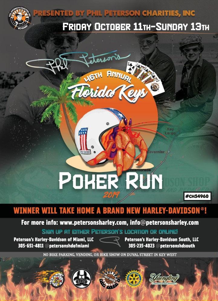 46th Annual Phil Peterson's Key West Poker Run Miami,FL