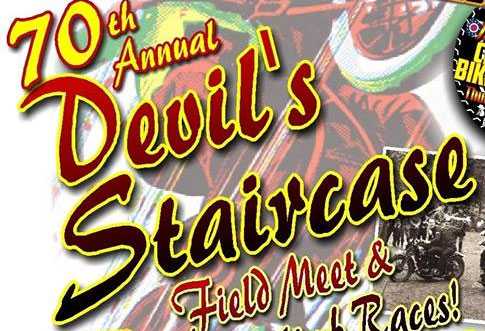 70th Annual Devil's Staircase AMA Pro Hillclimb Weekend Oregonia,OH