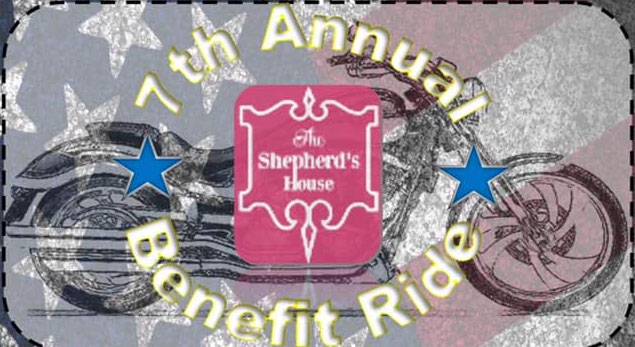 7th Annual Sherperd's House Ride 			Fort Wayne,IN