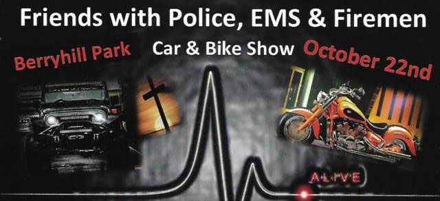 Friends of Police, EMS & Firemen Car & Bike Show Searcy,AR