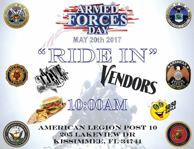 2017 Armed Forces Day Ride-In Kissimmee,FL