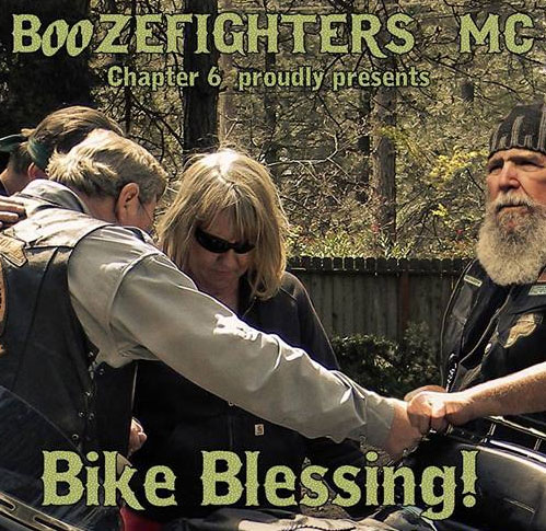 Boozefighter Chapter 6 Bike Blessing Mar 2019 			Grass Valley,CA