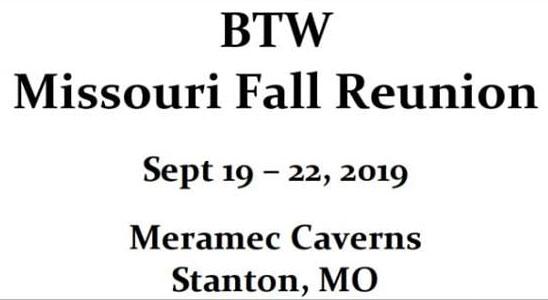 BTW Missouri Fall Reunion Sullivan,MO