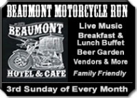 Beaumont Motorcycle Run 			Beaumont,KS