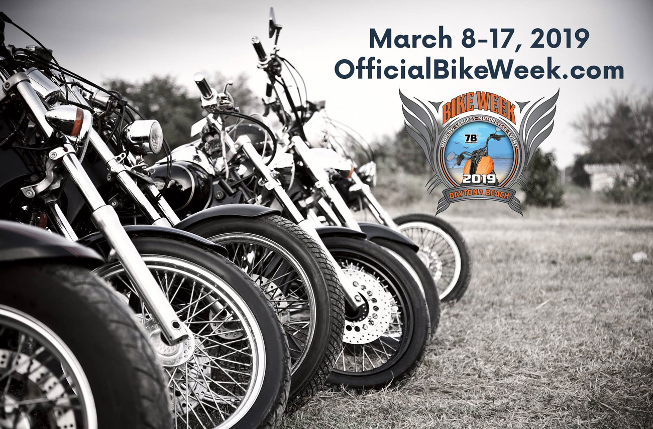 78th Annual Daytona Bike Week 2019 Daytona Beach,FL
