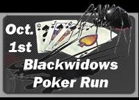 20th Annual Black Widows Poker Run Sacramento,CA