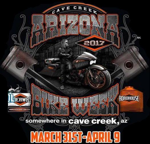 2017 Arizona Bike Week - Hideaway Cave Creek,AZ