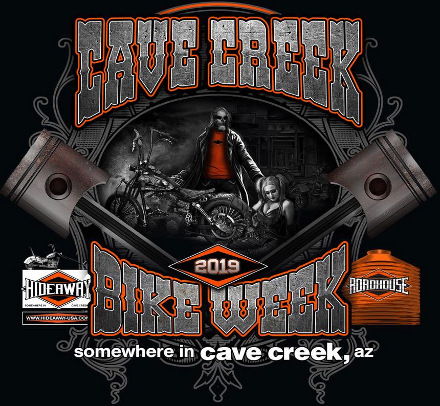 Cave Creek Bike Week 2019 			Cave Creek,AZ