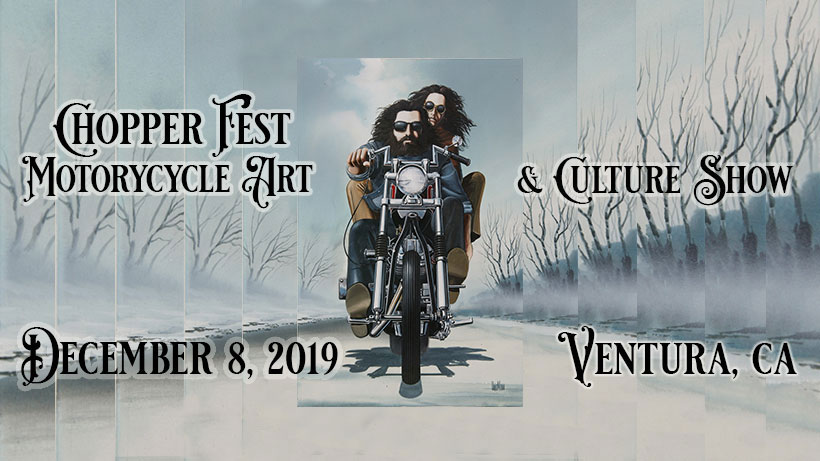 16th Annual David Mann Chopperfest Ventura,CA