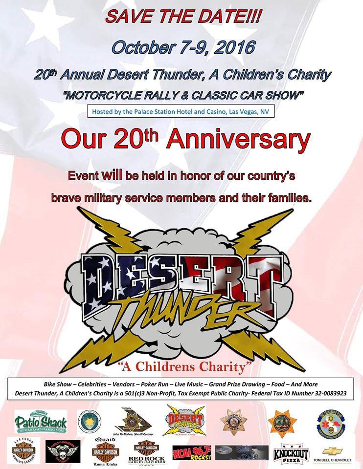 Desert Thunder Children's Charity Event Las Vegas,NV