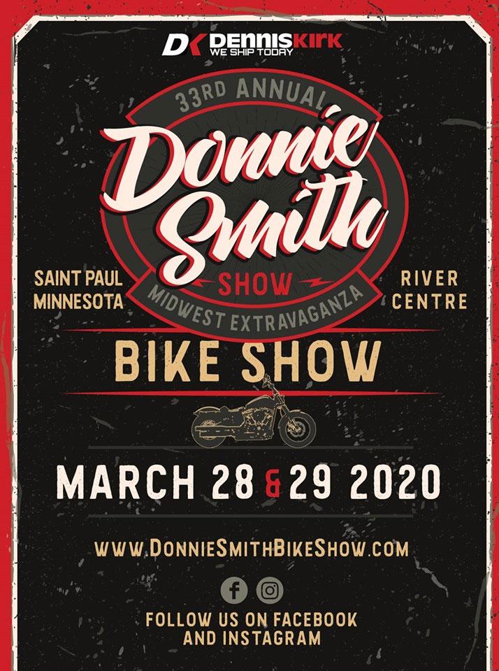 33rd Annual Dennis Kirk Donnie Smith Bike Show St. Paul,MN