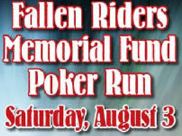 15th Annual Fallen Riders Poker Run 			Sagamore Hills,OH