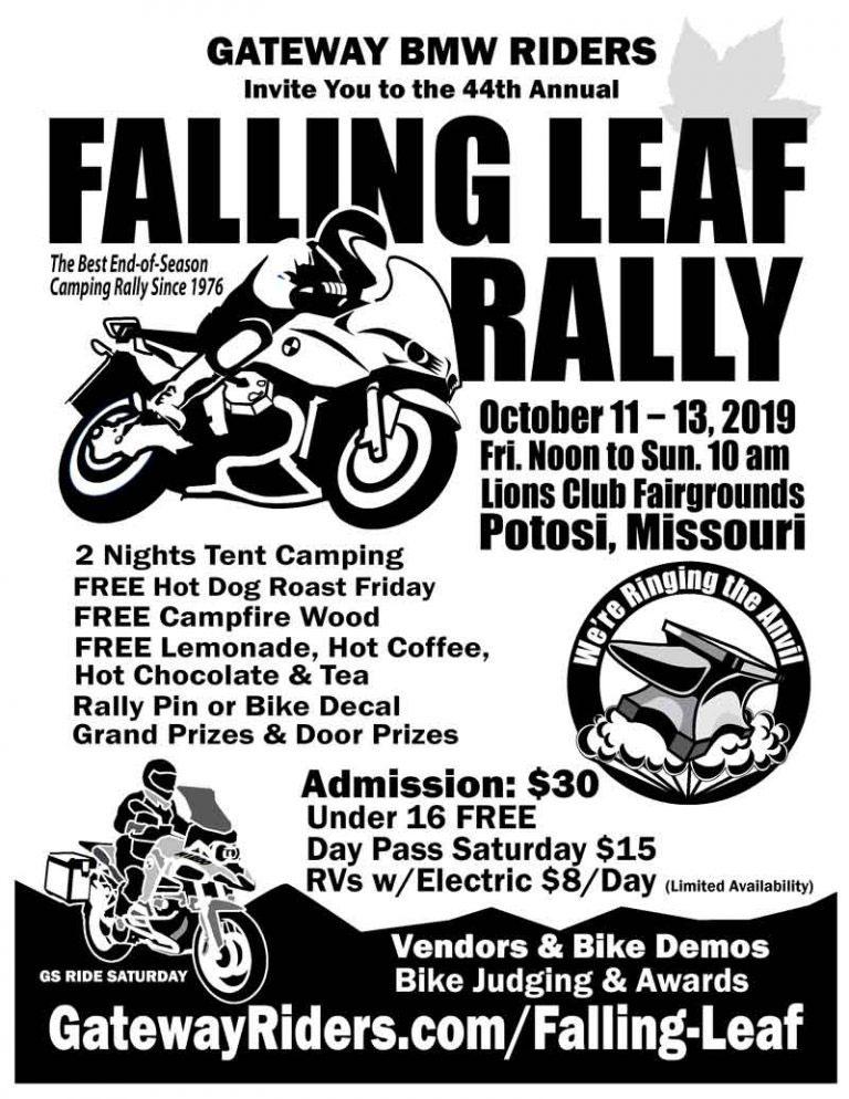 44th Annual Falling Leaf Rally  Potosi,MO