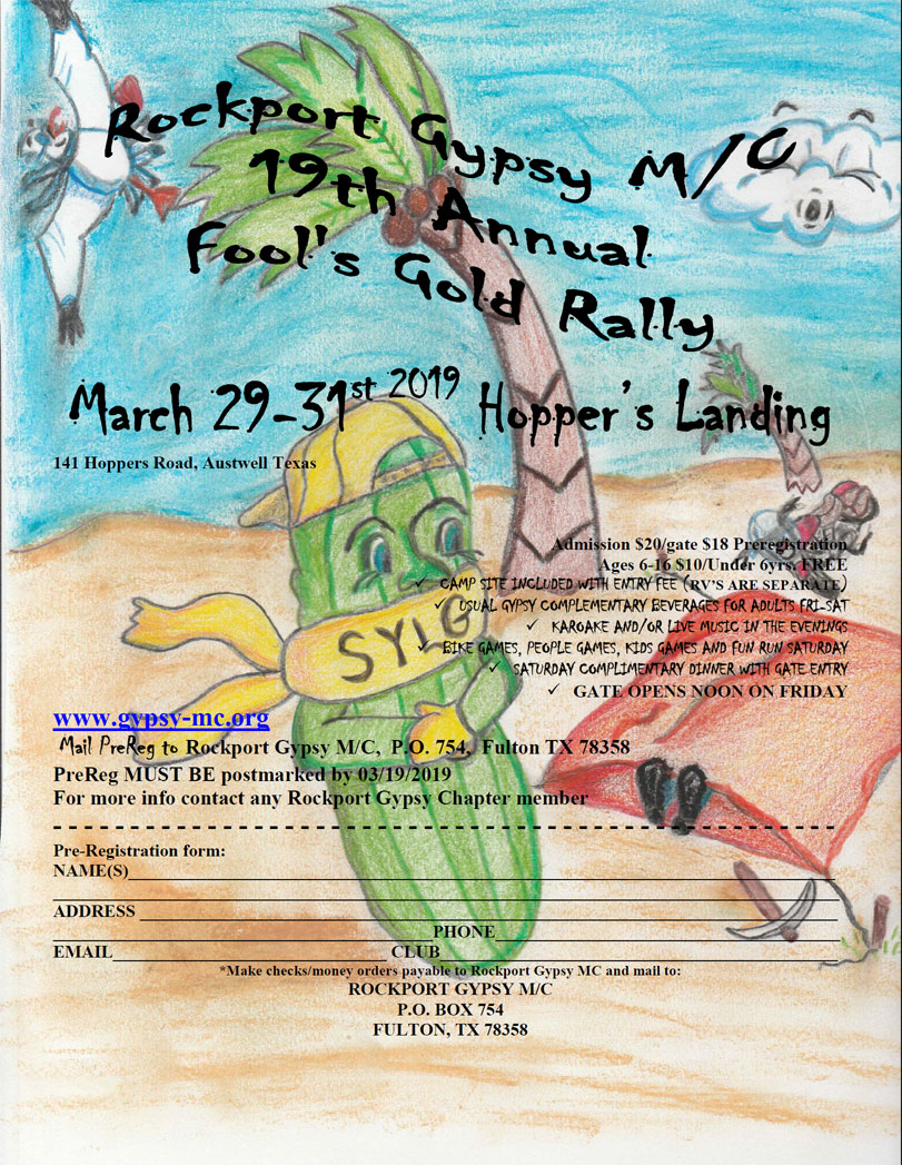 Fool's Gold Rally 2019 Austwell,TX
