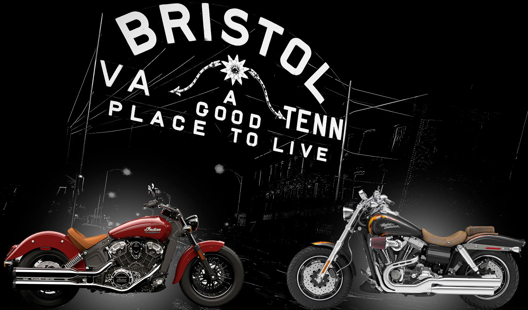 2016 Ride the State Line Motorcycle Rally Bristol,VA