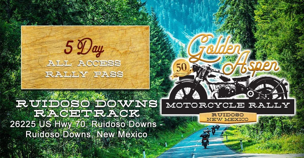 Golden Aspen Motorcycle Rally Ruidoso Downs,NM