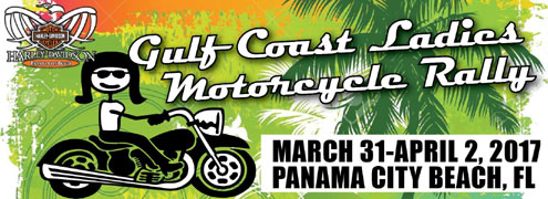 2017 Gulf Coast Ladies Motorcycle Rally Panama City Beach,FL