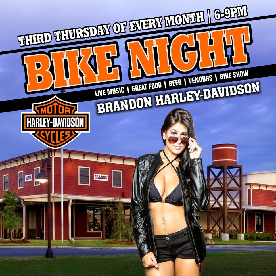 HD Brandon Bike Night Brandon,FL