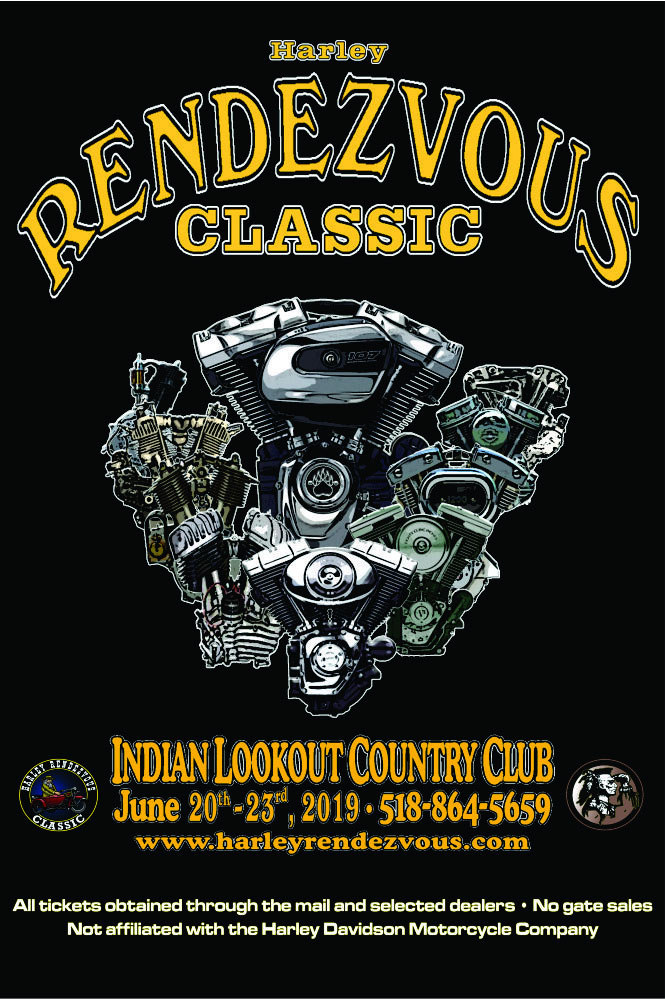 23rd Annual Harley Rendezvous Classic Pattersonville,NY