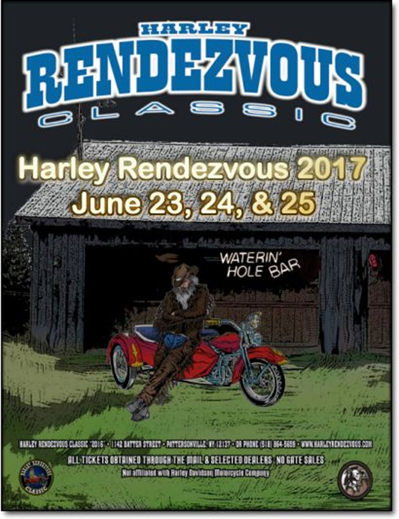 21st Annual Harley Rendezvous Classic Pattersonville,NY