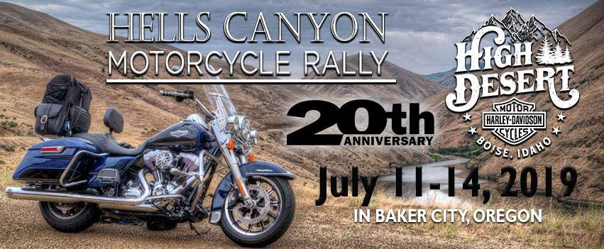 20th Annual Hells Canyon Motorcycle Rally Baker City,OR