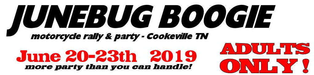June Bug Boogie Motorcycle Rally - Spring Cookeville,TN