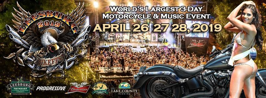 23rd Annual Leesburg Bikefest Leesburg,FL