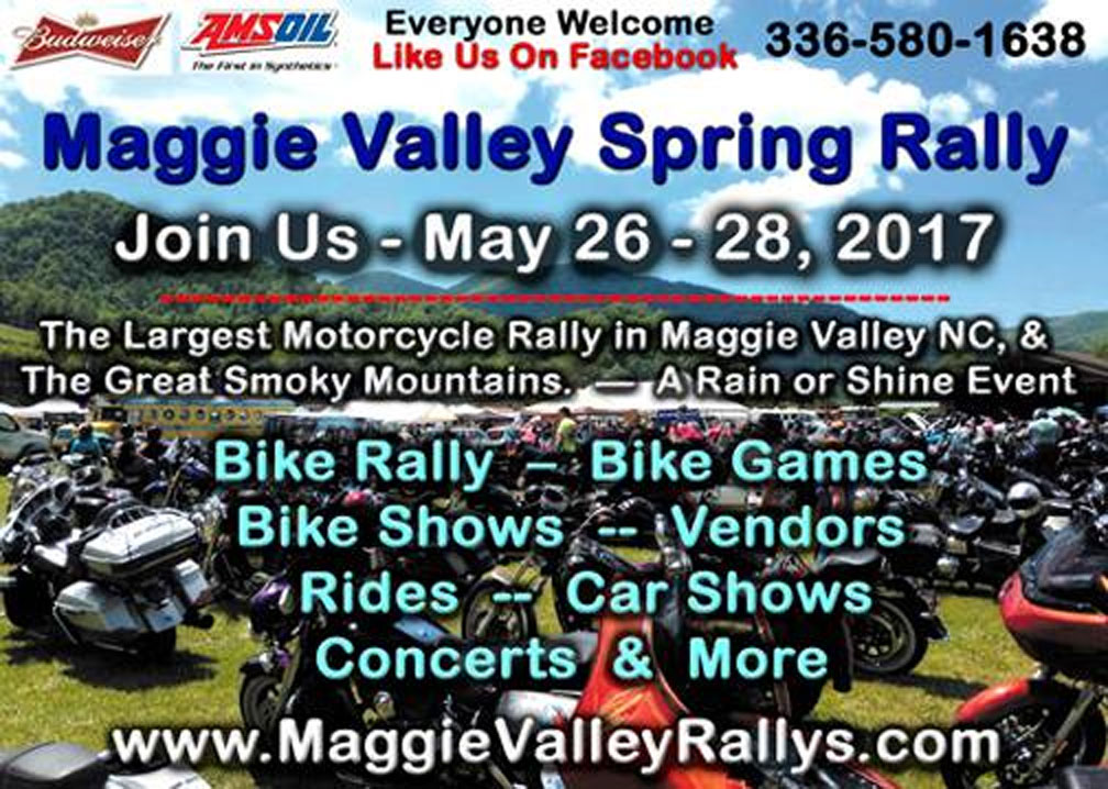 2017 Maggie Valley - Spring Rally Maggie Valley,NC