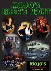 Mojo's Saturday Bike Night 			Lakeland,FL