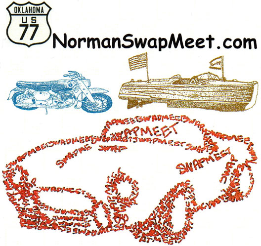 Norman Motorcycle Swap Meet - Spring 			Norman,OK