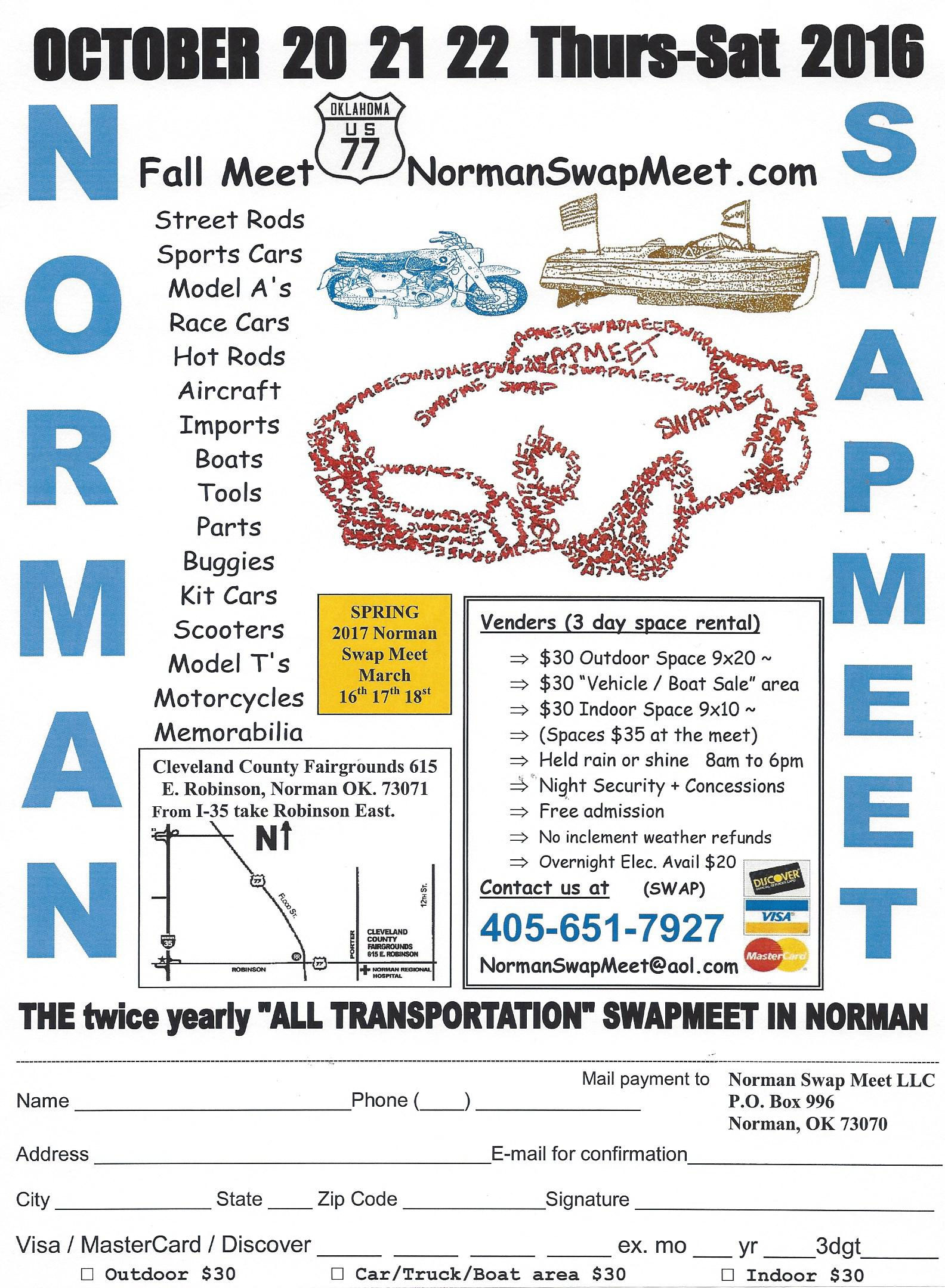 2017 Norman Motorcycle Swap Meet - Spring Norman,OK