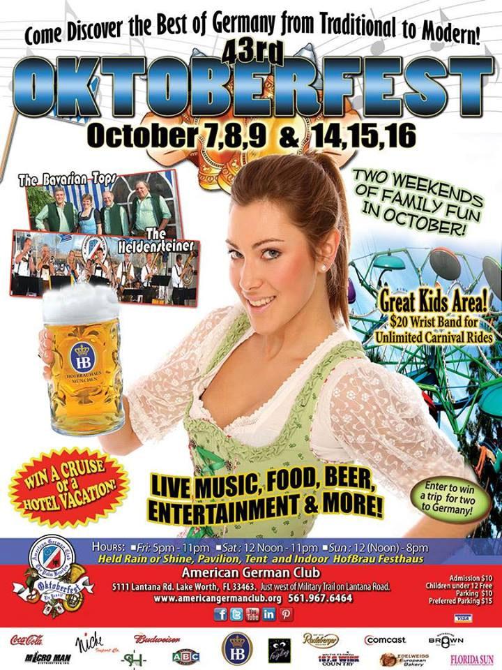 2016 43rd Octoberfest - Ride 1 Lake Worth,FL