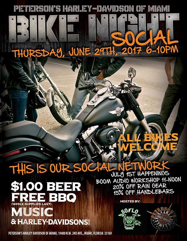 Peterson's H-D North - Bike Night Social Miami,FL