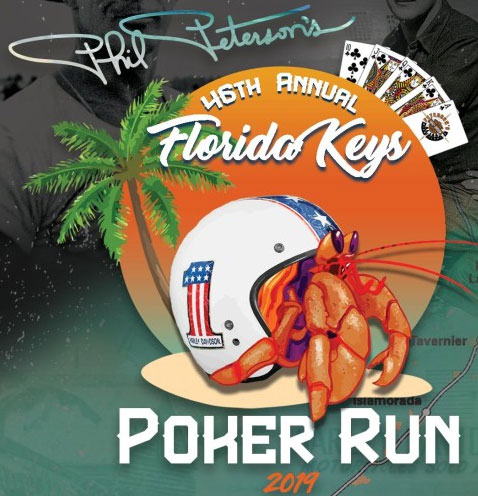 46th Annual Phil Peterson's Key West Poker Run 			Miami,FL