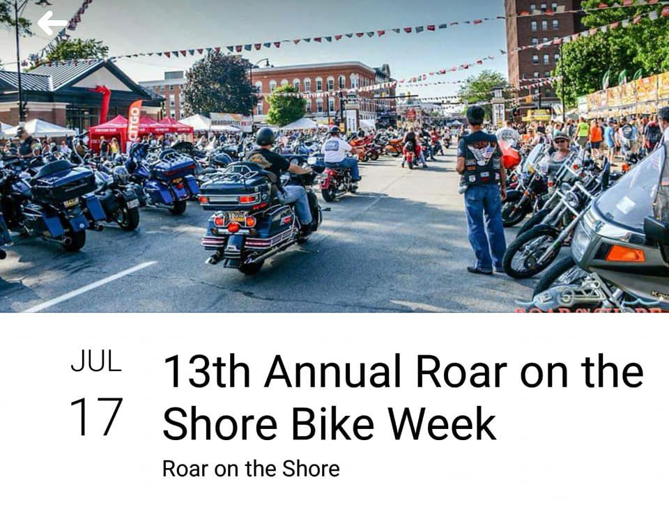13th Annual Roar on the Shore Erie,PA