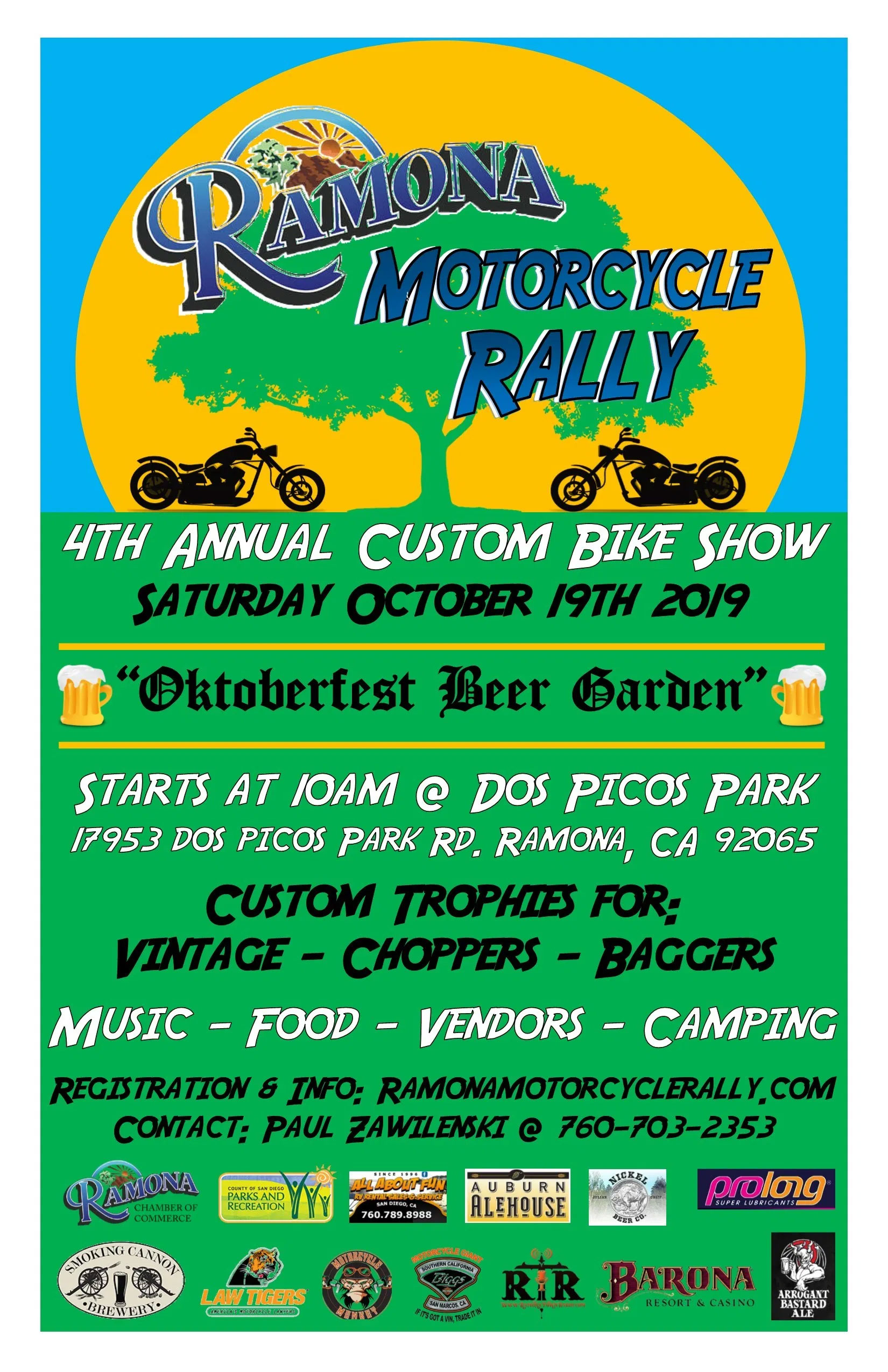 Romona Motorcycle Rally Ramona,CA