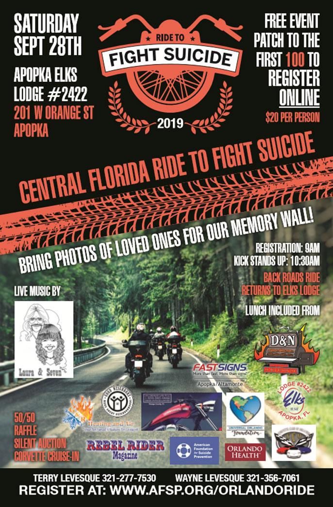 Ride to Fight Suicide Apopka,FL
