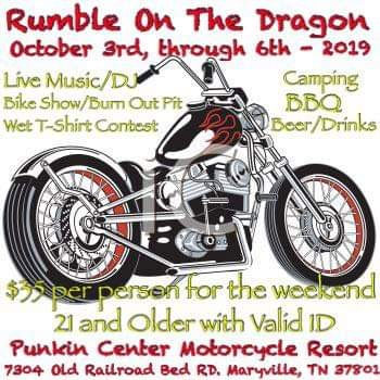 Rumble on the Dragon  			Maryville,TN