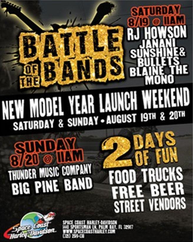 H-D Space Coast Battle of the Bands Palm Bay,FL