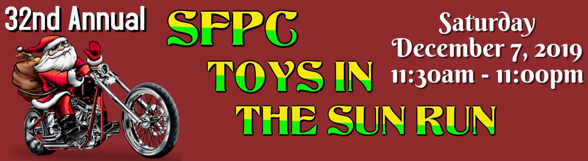 SFPC Toys in the Sun Run 32nd Annual  Pompano Beach,FL