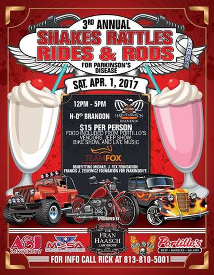3rd Annual Shakes Rattles Rides & Rods Brandon,FL