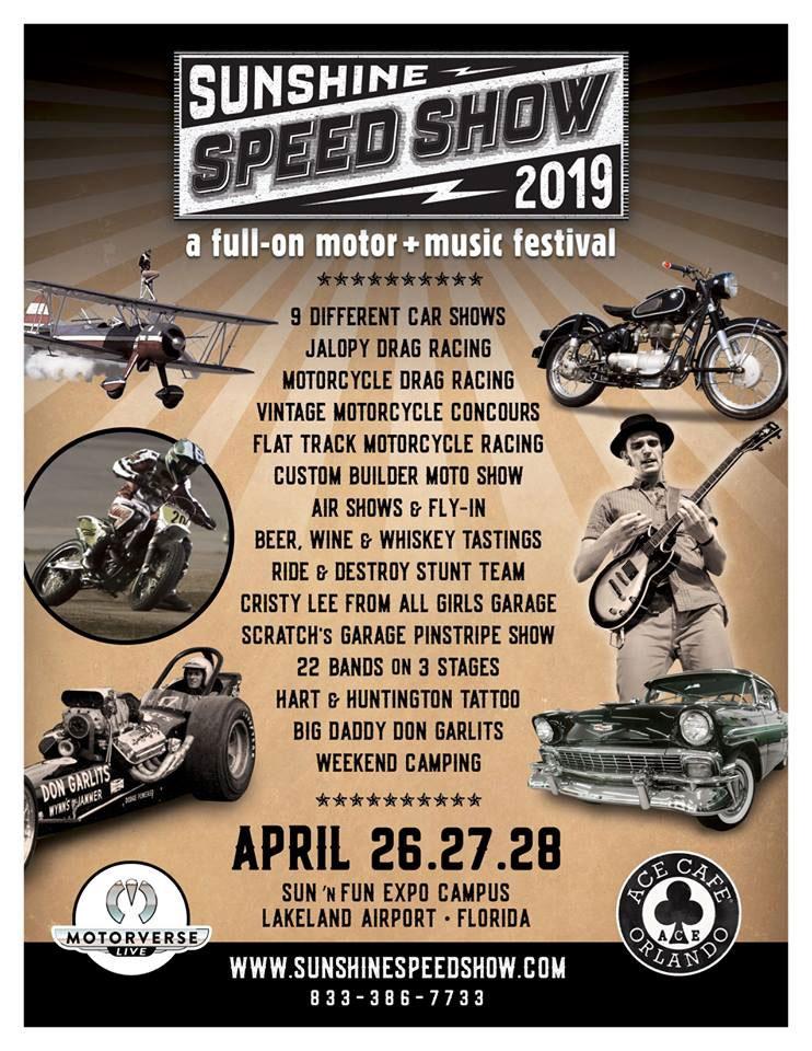 Sunshine Speed Show 2019 Lakeland,FL