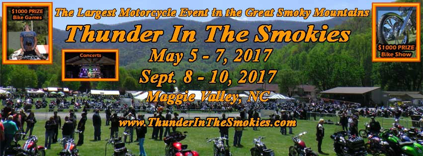 15th Annual Thunder in the Smokies - Fall Rally Maggie Valley,NC