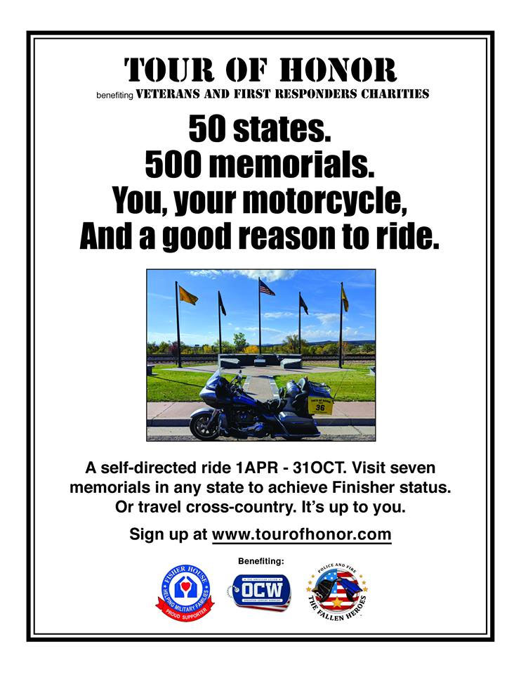 10th Annual Tour of Honor Your City,ALL