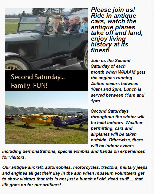 WAAAM Second Saturdays - March Hood River,OR