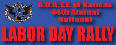 ABATE of KS: 44th Annual Nat'l Labor Day Rally Ozawkie,KS